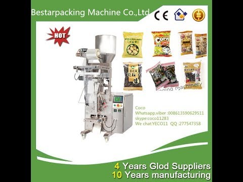 Bestar Customized vertical packing filling machinery for capsule,pills,camphor,tablet sachet