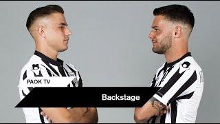 Backstage από την φωτογράφηση - PAOK TV