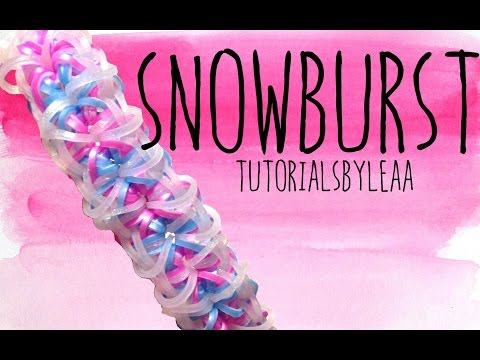 Rainbow Loom- Snowburst | How To | UPDATED VERSION