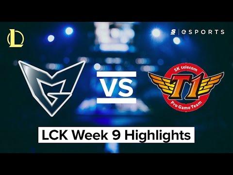 HIGHLIGHTS: Samsung Galaxy vs. SK Telecom T1 (2017 LCK Spring)