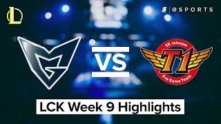 HIGHLIGHTS: Samsung vs SK Telecom T1 (2017 LCK Spring)