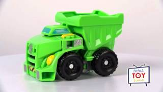 Transformers Rescue Bots Boulder Dump Truck 2015 Rescan Playskool Heroes 4K