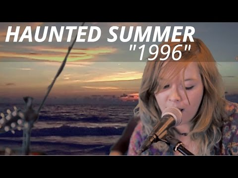 "Playing a song called ""1996"" with indie band Haunted Summer for a live video session - Blind Blind Tiger"