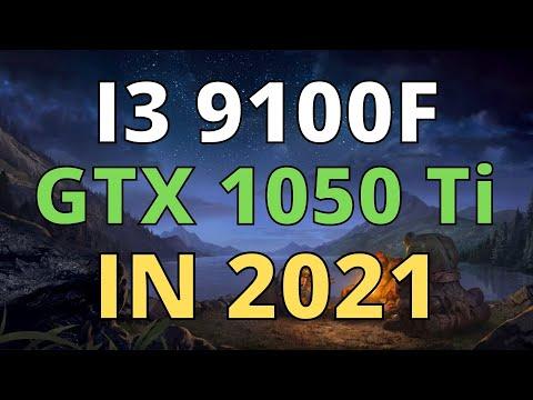 I3 9100F GTX 1050 Ti IN 2021 - TEST IN 22 GAMES