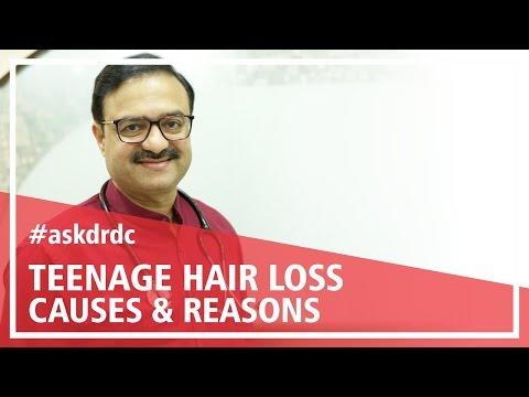 Causes of teenage hair loss & reason of hair fall | HairMD, Pune