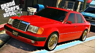 GTA 5 Mods : Mercedes-Benz 500E (W124)
