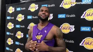 LeBron James Responds to Kyle Kuzma Claim That