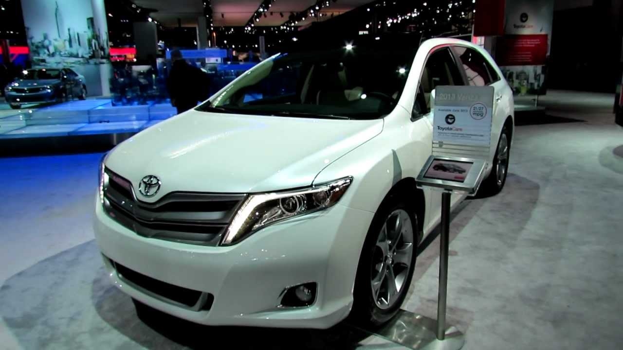 2013 Toyota Venza V6 Awd Re Designed Exterior And Interior