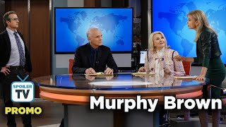 """Murphy Brown 11x05 Promo """"The Girl Who Cried About Wolf"""""""