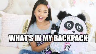 WHAT'S IN MY BACKPACK! � GIVEAWAY WINNERS ANNOUNCED!