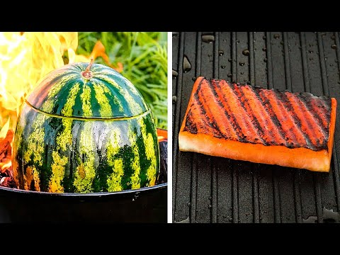 27 GENIUS WAYS TO CUT AND EAT FRUITS    Watermelon Life Hacks and Cutting Tricks