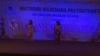 Ekdantay Vakratunday - HD English Medium School Gathering Dance - 2014-15