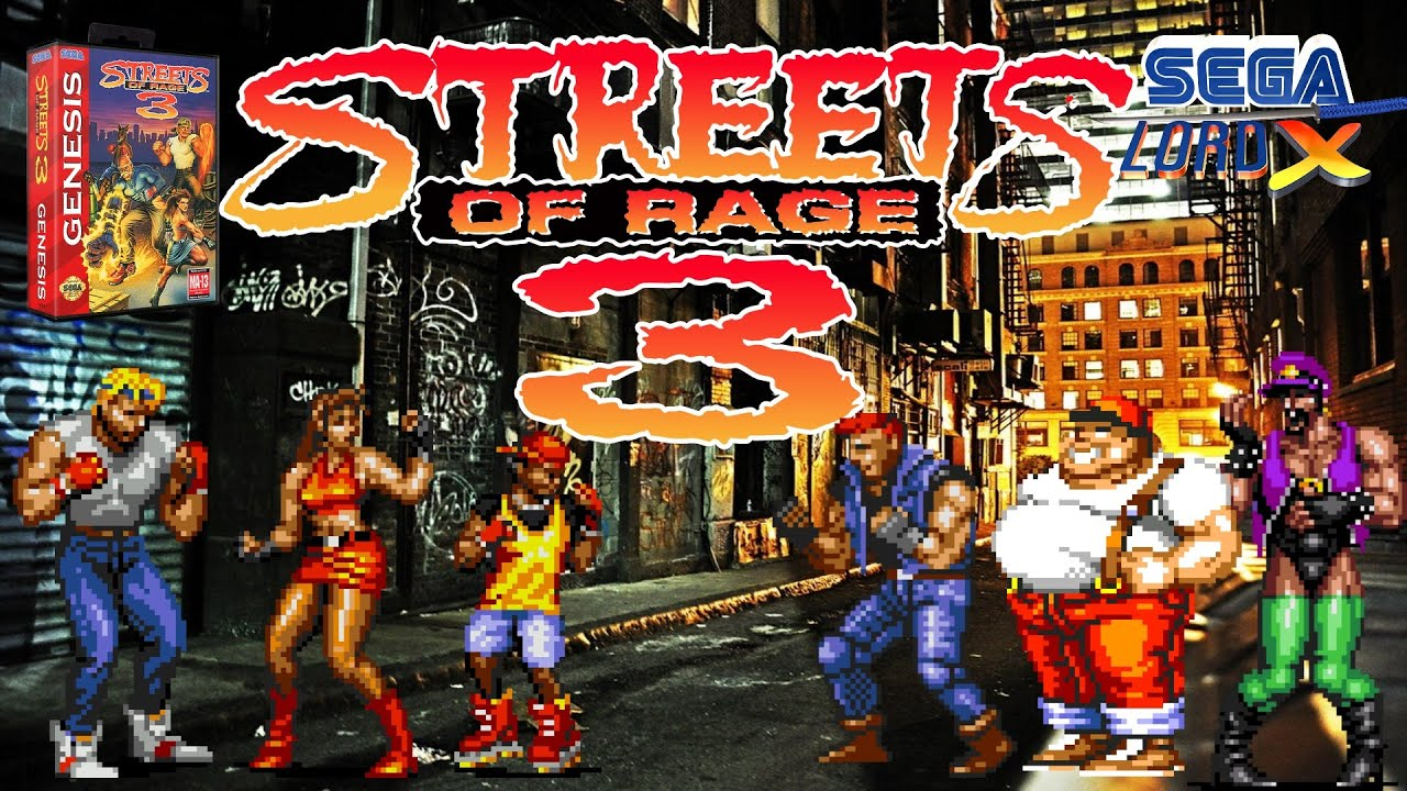 Streets of Rage 3 - Sega Genesis Review