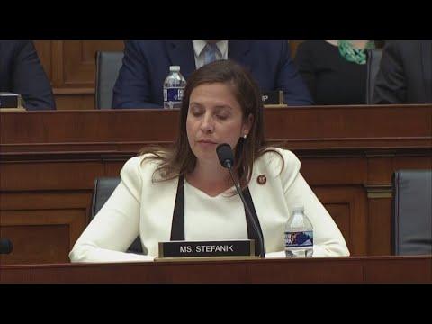 Representative Stefanik questions