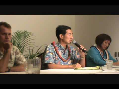 HI-01; 2010 4.10., Charles Djou, Willows Debate, Part 6.wmv