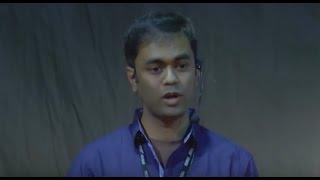 Vijayendra Mohanty at TEDx XIMB, speaking on mythology and storytelling