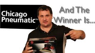 Chicago Pneumatic Giveaway Sander Winner Is