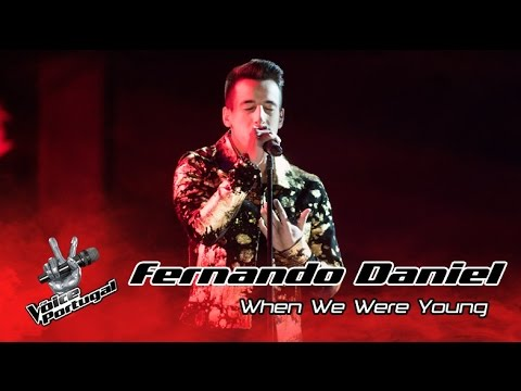 Fernando Daniel - When we were young (Adele) | Gala Final | The Voice Portugal