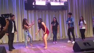 JOSHUA GARCIA TITIG NA TITIG KAY LOISA HABANG NGBUBUDOTS DANCE