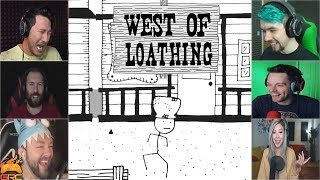 Gamers Reactions to Stupid Walking | West of Loathing