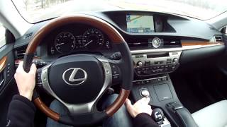2014 Lexus ES 350 - WR TV POV Test Drive