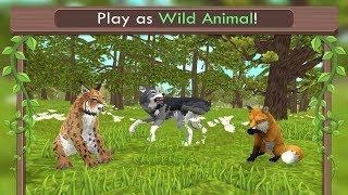 🐺WildCraft: Animal Sim Online 3D-  By Turbo Rocket Games-Android