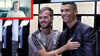 Ronaldos erster Tag bei Juventus Turin ! REAKTION