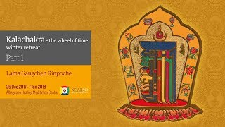 Kalachakra Festival – The Wheel of Time – winter retreat 2017/2018