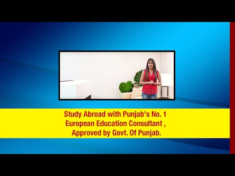 Study Abroad with Punjab's No. 1 European Education Consultant , Approved by Govt. Of Punjab.