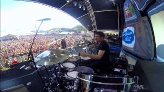 ray luziers gopro drum cam got the life 1