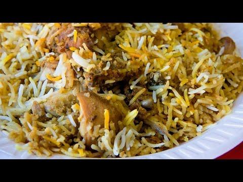 Hyderabadi Dum Biryani (హైదరాబాదీ దమ్ బిర్యానీ) | Hyderabad Chicken Biryani by Maa Vantagadi