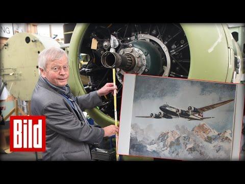 Focke-Wulf Fw 200 Condor - Senioren bauen Flugzeug bei Airbus (Atlantik)