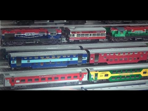 Railway Exhibition – Unbelievable Paper Made Train Models Kept On Display !!!