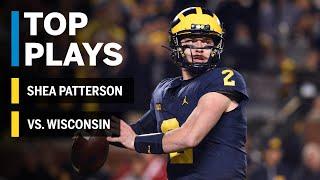 Top Plays: Shea Patterson Highlights vs. Wisconsin Badgers | Big Ten Football