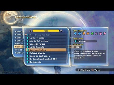 Como Conseguir Final kamehameha DRAGON BALL XENOVERSE 2