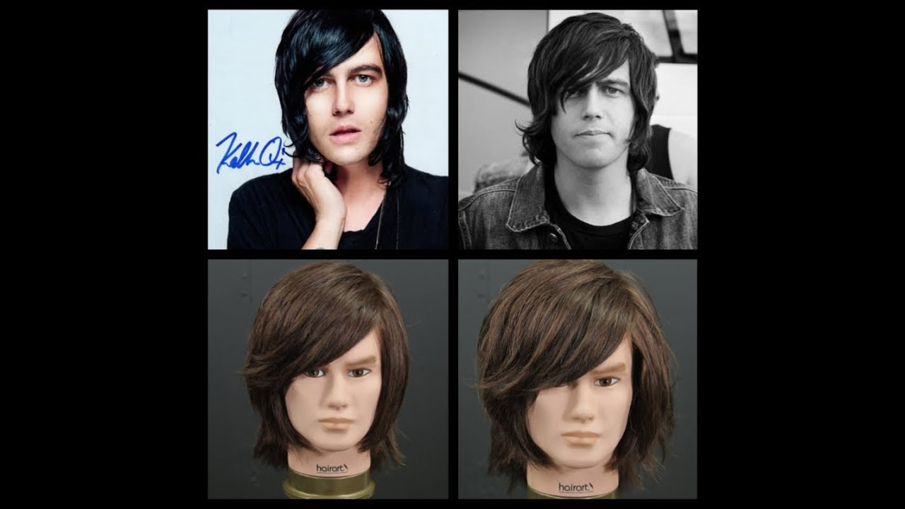 Kellin Quinn Inspired Haircut Tutorial Thesalonguy Youtube