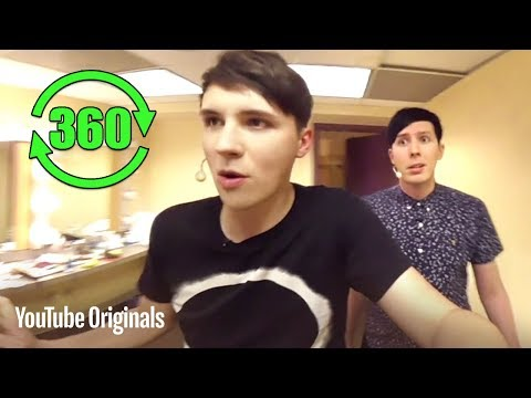 Backstage with Dan and Phil in 360° VR (Bonus)