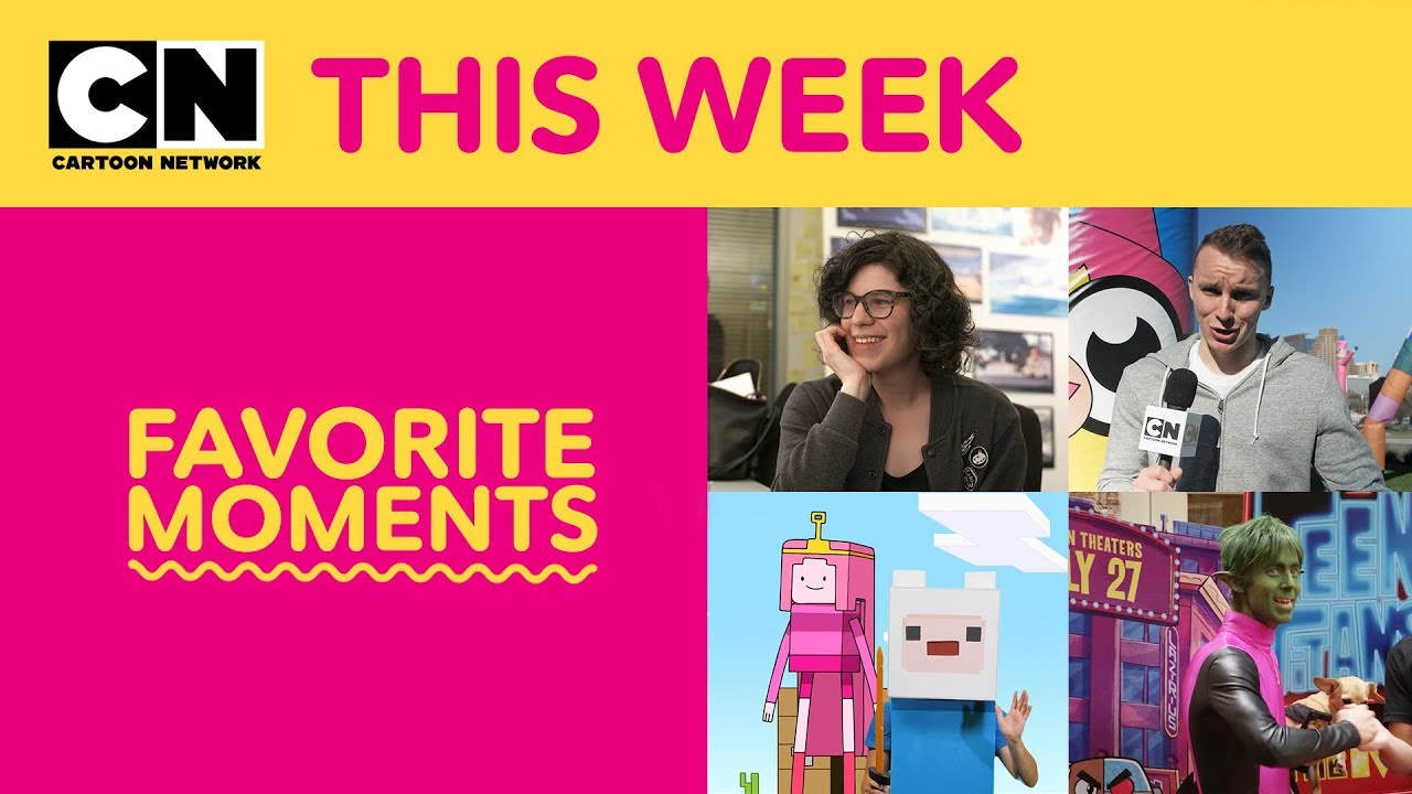 Teen Titans GO! | Adventure Time | Favorite Moments | Cartoon Network This Week