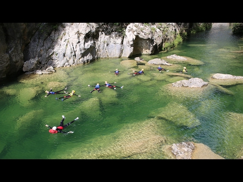 Split canyoning tours - Amazing drone video