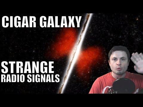 This Nearby Galaxy Has an Unusual Radio Source - Cigar Galaxy Explored
