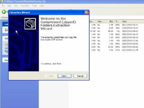 Using Zip Files
