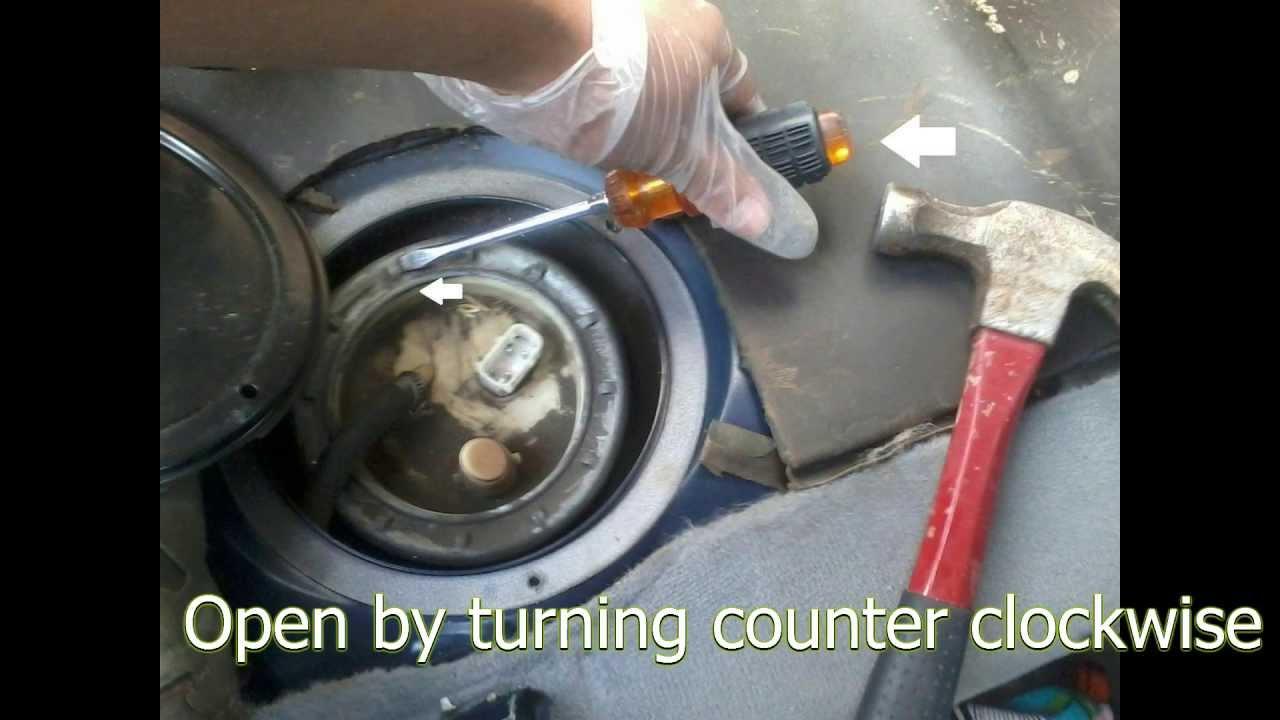 diy e39 fuel pump replacement [ 1280 x 720 Pixel ]