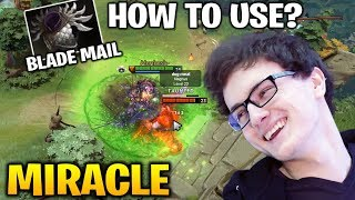MIRACLE [AXE] EFFECTIVE WAYS TO USE BLADE MAIL Dota 2 7.18