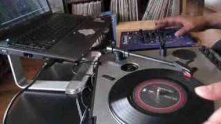 One Turntable Mixing with Serato