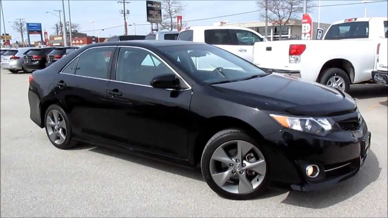 2012 Toyota Camry Se Start Up Walkaround And Vehicle Tour