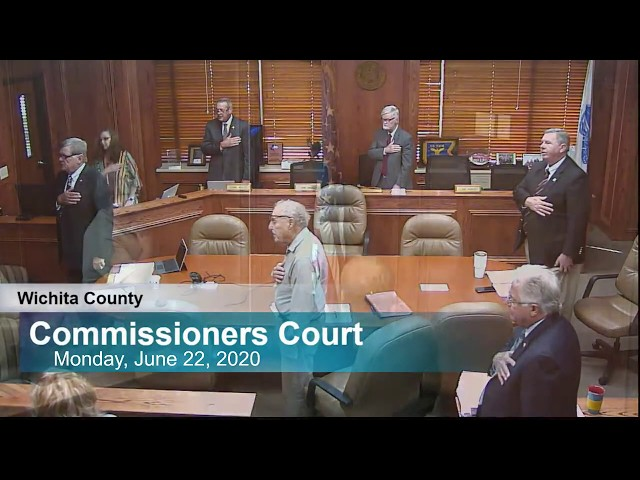Commissioners Court 06/22/2020