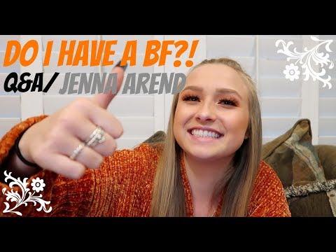 DO I HAVE A BOYFRIEND?! (Q&A) / JENNA AREND