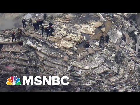 Perilous Search Continues At Collapsed Miami Condo