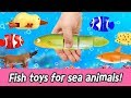 Download  En  Fish Toys For Sea Animals!! Animal Names For