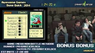AGDQ 2014 Bonus Stream - Game 67 - Megaman Battle Network